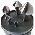 Zestaw pogłębiaczy stożkowych 90 stopni DIN 335-C 6,3-25 CZP-6 Fanar